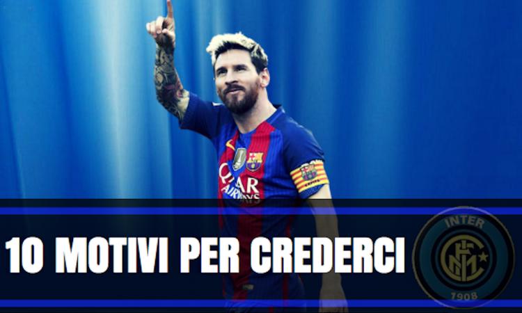 Messi all'Inter, ecco il piano di Suning