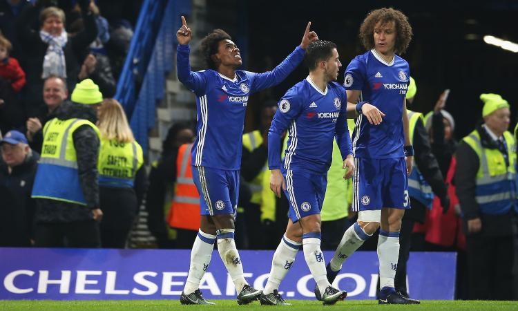Chelsea, Conte mette alla porta due calciatori