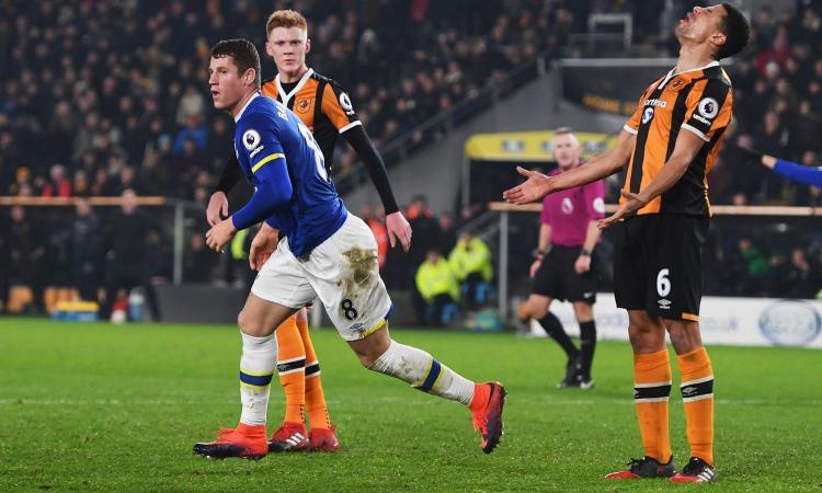 Everton: Barkley può restare, il punto