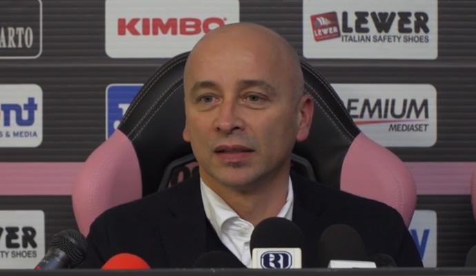 VIDEO Corini: 'Salverò il Palermo con una spinta morale. Starò in apnea senza la clausola anti-esonero'
