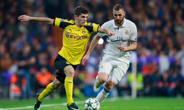 Real Madrid: pronta l'offerta per Pulisic