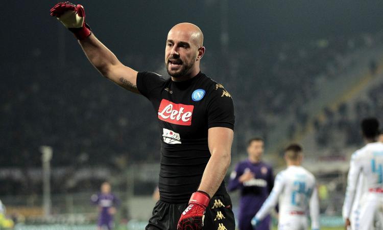 Napoli, c'è la proposta del PSG per Reina: 5 milioni e una contropartita tecnica