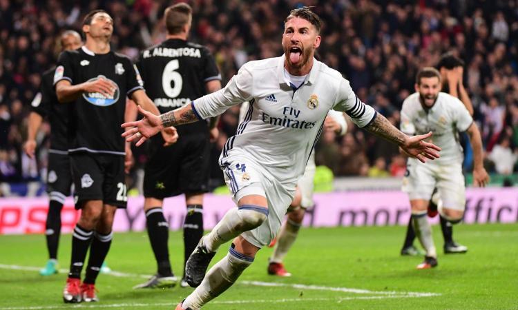 Champions League: Sergio Ramos difensore dell'anno VIDEO