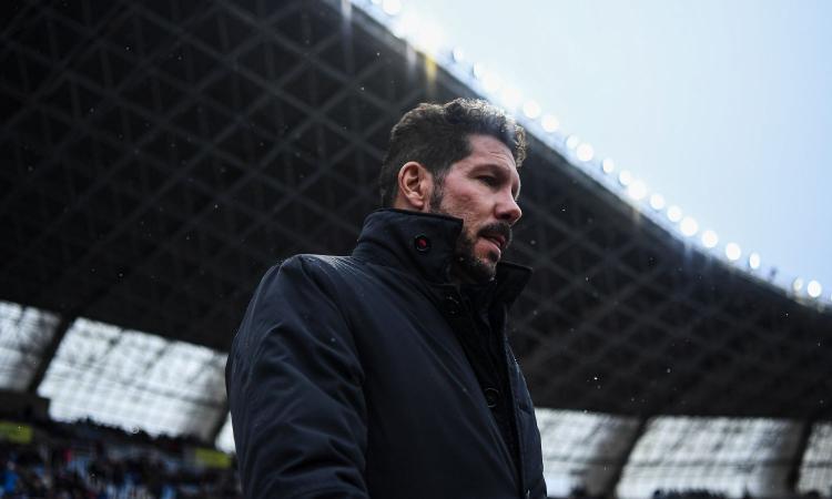 Atletico Madrid, Simeone: 'Inter? Non ne parlerò più'