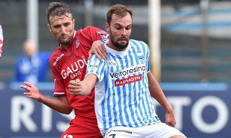 Serie B: 0-0 con la Pro Vercelli, rinviata la festa promozione della Spal. Rissa sfiorata a fine partita