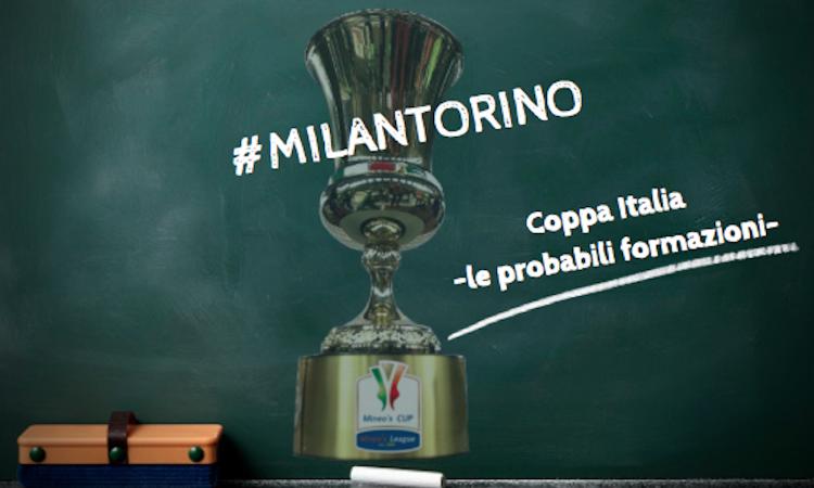 Milan-Torino: le probabili formazioni