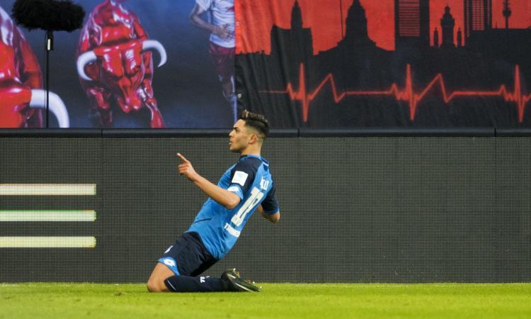 Juve: sfida al Tottenham per un centrocampista dell'Hoffenheim