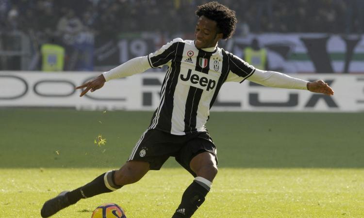 Juve-Genoa: in caso di forfait di Cuadrado è già pronto il sostituto