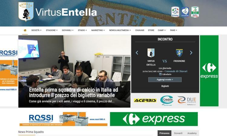 La Virtus Entella inventa il biglietto a costo variabile