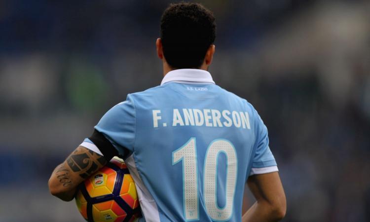Lazio, Felipe Anderson lavora duro a Formello