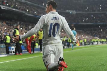 James Real Madrid