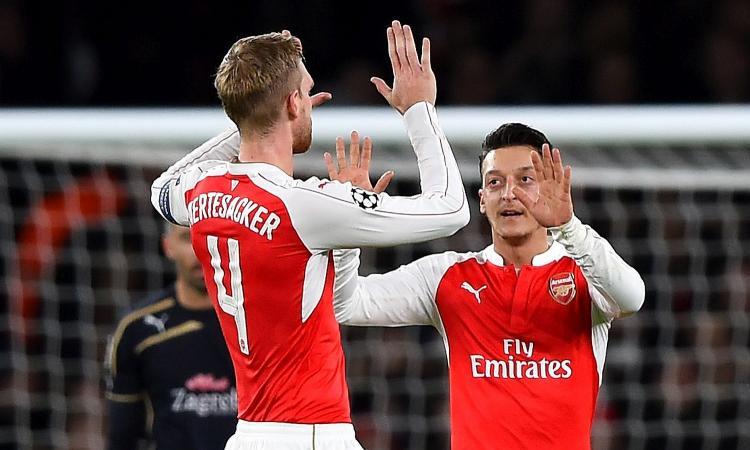Arsenal, UFFICIALE: Mertesacker si ritira a fine stagione