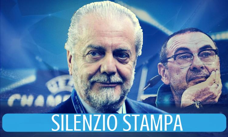 Napoli, UFFICIALE: da Los Angeles, De Laurentiis impone il silenzio stampa