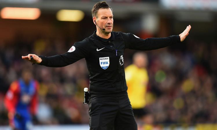 La rivelazione dell'arbitro inglese: ecco per chi tifa...