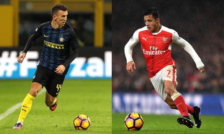 Inter, Ramadani spinge Perisic all'Arsenal e Sanchez in nerazzurro