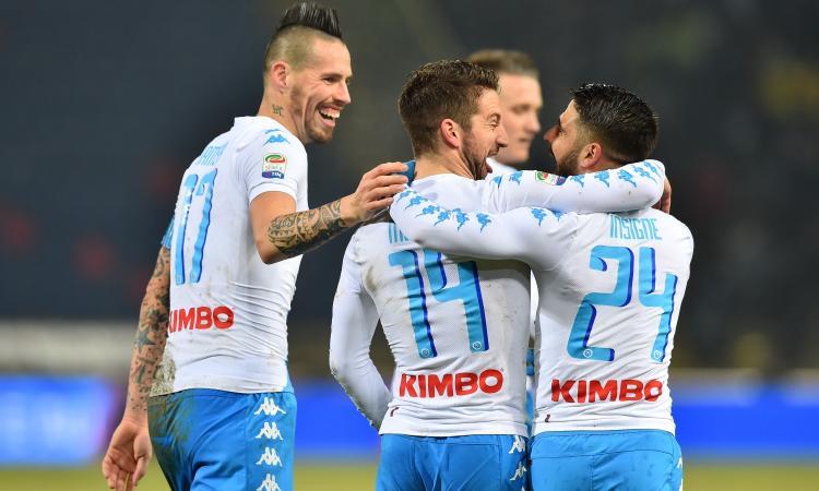 Mertens-Insigne la miglior coppia gol della Serie A