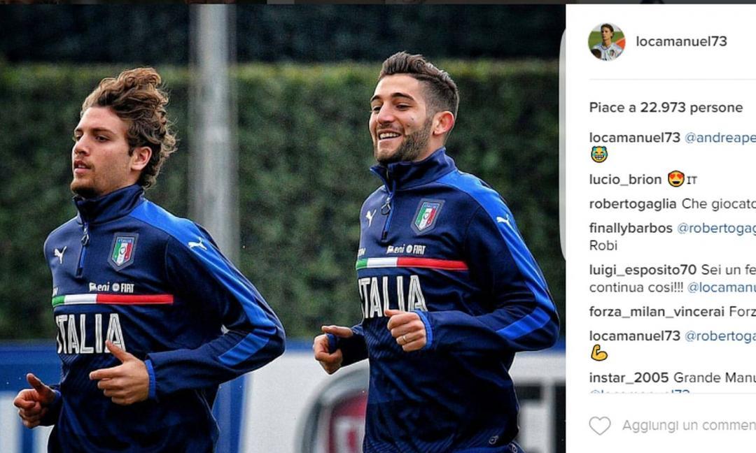Locatelli e Gagliardini: rivali a Milano, compagni d'azzurro. Chi diventerà più forte?