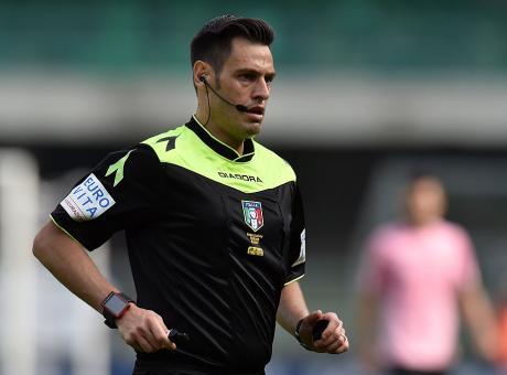 Arbitri serie A: il derby di Genova a Doveri, Mariani per Fiorentina-Inter