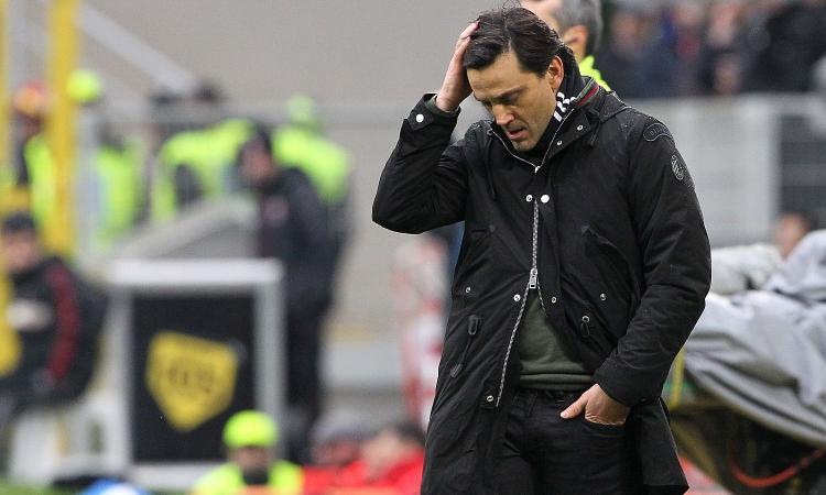 Milan, Montella: 'Bonucci? Sta rendendo meno di quello che mi aspettavo'