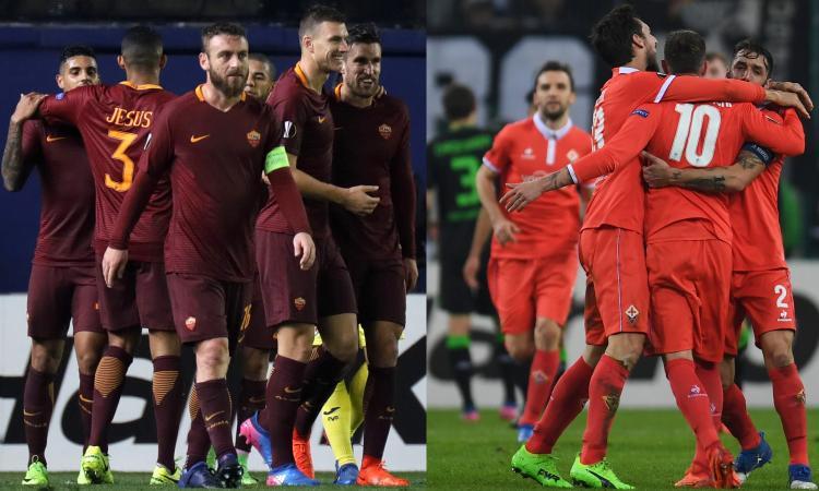 Roma e Fiorentina, riecco l'Italia che vince: prendiamoci questa coppa