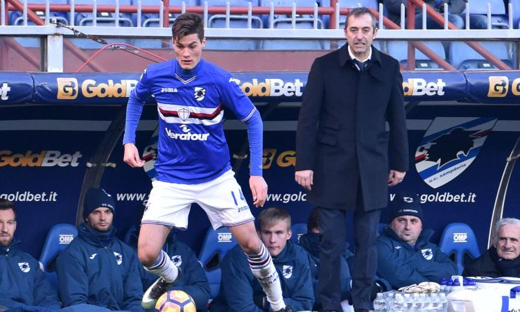 Schick: 'Ho un contratto con la Sampdoria, non vorrei parlare di partenze'