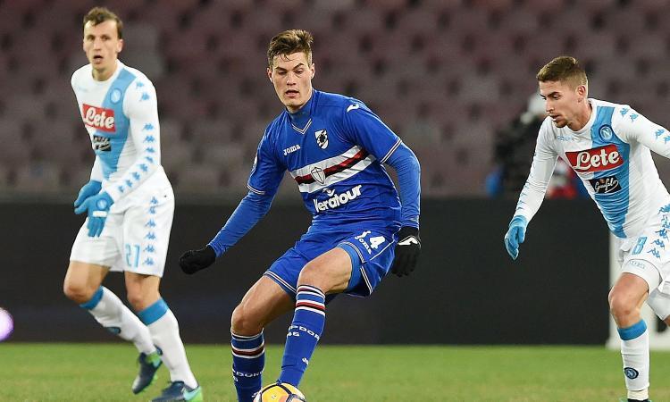 Allenamento calcio Sampdoria vesti