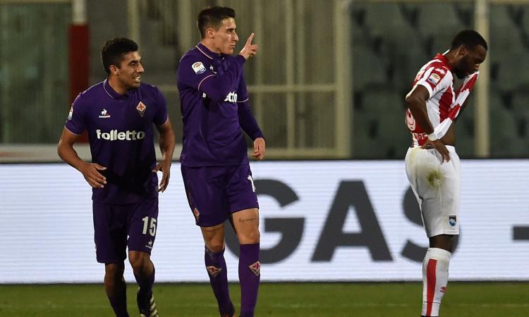Fiorentina, Tello vuole convincere i viola a riscattarlo