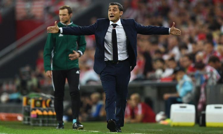 Roma, per la panchina spunta Valverde