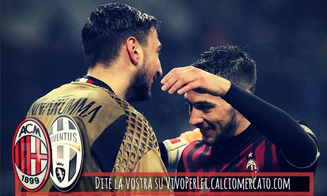 Sicuri che Juve-Milan giocheranno a parti invertite?
