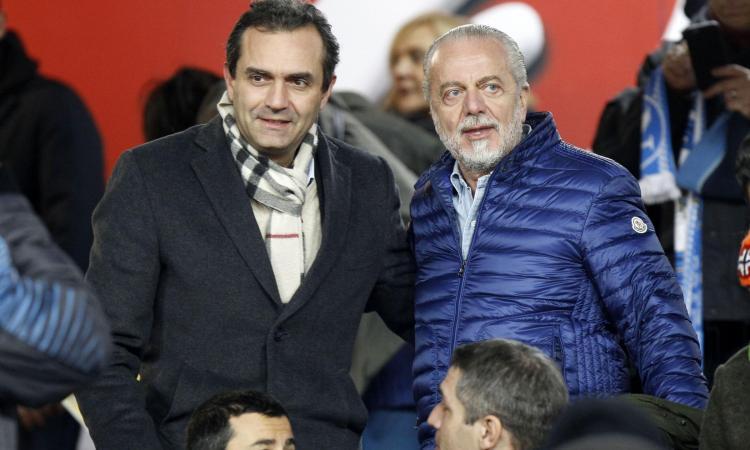 Napoli, De Magistris risponde a De Laurentiis: 'Hajduk? Meglio se compra qualche giocatore'