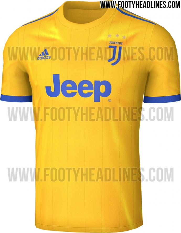 new concept 5dff2 a5cff Juventus 2017-18 away kit leaked online | English News ...