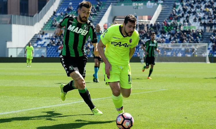Sassuolo-Bologna 0-1: il tabellino