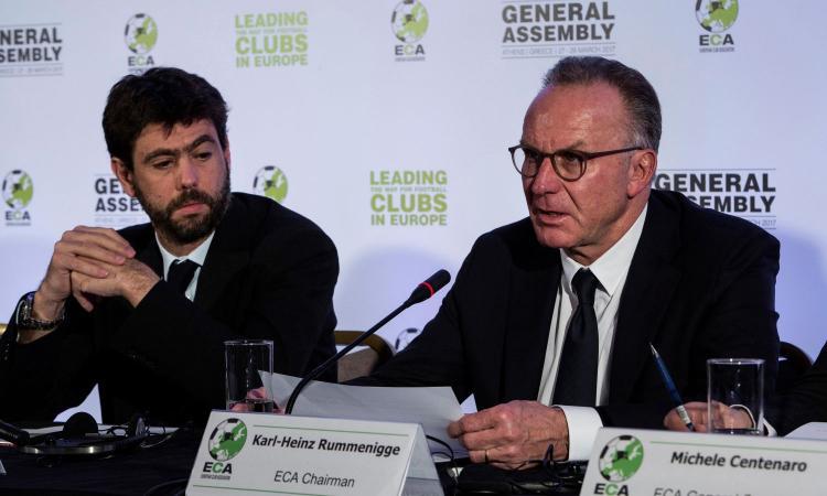Seifert (Lega calcio tedesca) contro Agnelli: 'Con Rummenigge l'ECA era più affidabile...'