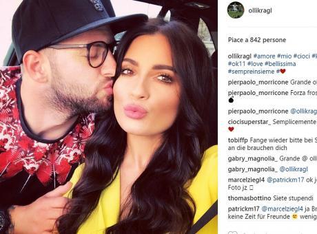Foggia, pesante lite tra Kragl e la showgirl Macari nella prima notte di nozze: arriva la polizia, poi la pace VIDEO