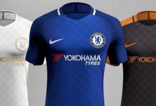 best service 84810 bd176 In picture: Chelsea 2017/18 shirt leaked | English News ...