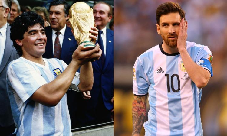Messi non sarà mai Maradona: Leo è un argentino, Diego è l'Argentina