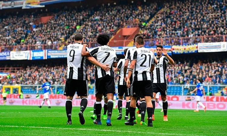 Sampdoria - Juventus 0-1: il tabellino