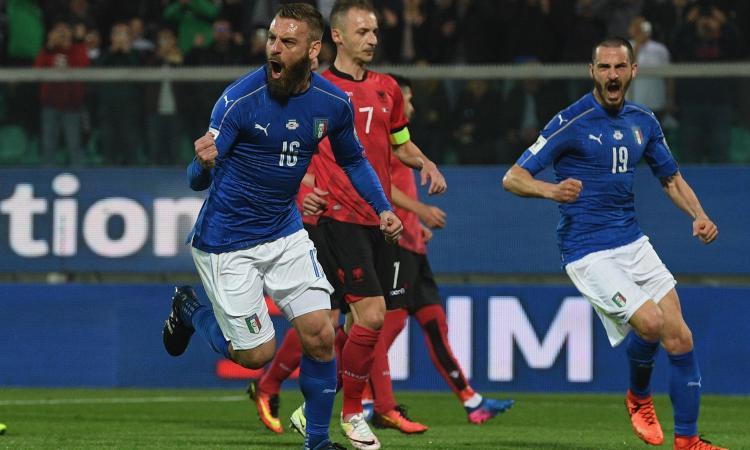 Italia e Roma, le due facce di De Rossi
