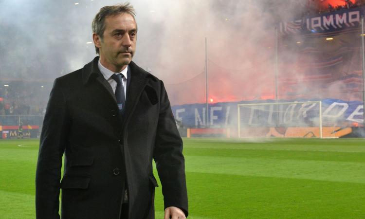 Sampdoria, i voti di Giampaolo: 'Ramirez arriva al campo prima di me, Caprari deve avere più autostima'