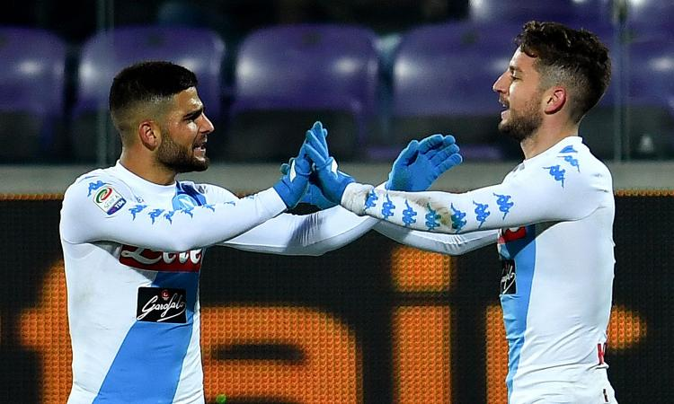 Napoli, c'era l'Arsenal su Mertens