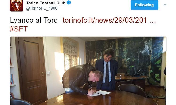Torino, infortunio per Lyanco