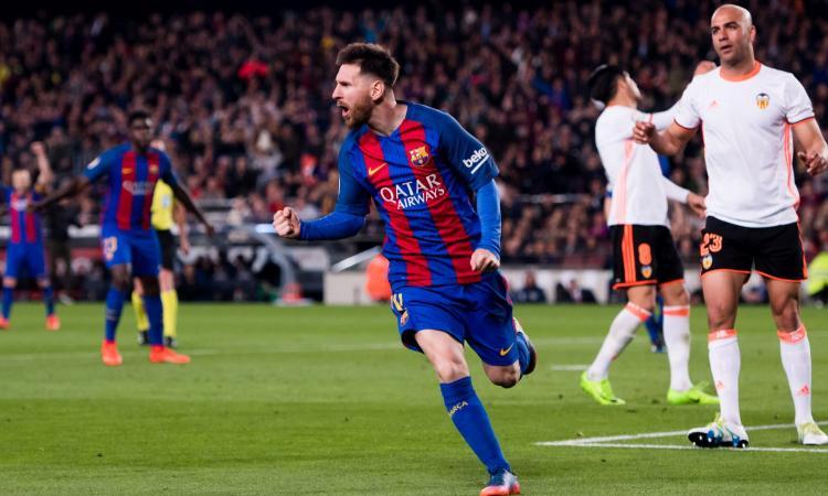 Liga: Atletico Madrid, tris al Siviglia. Poker del Barcellona al Valencia