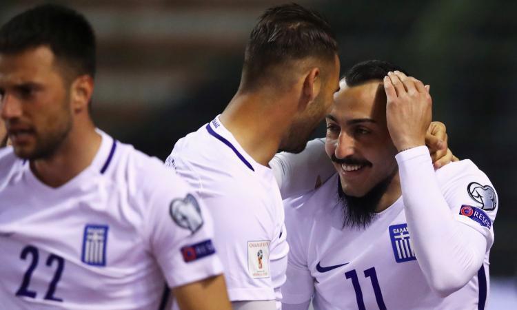 Liechtenstein-Grecia, le formazioni ufficiali: gioca Mitroglou