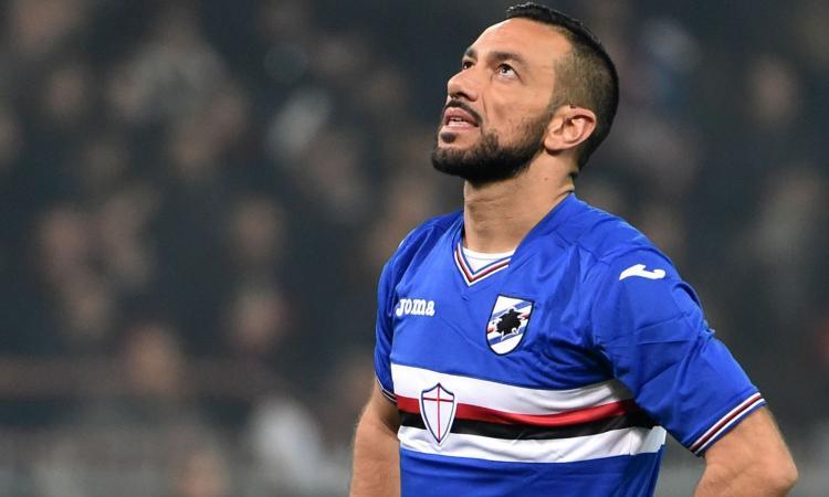 Samp, Quagliarella: 'Peccato per il terzo gol. Giampaolo ha idee stupende'