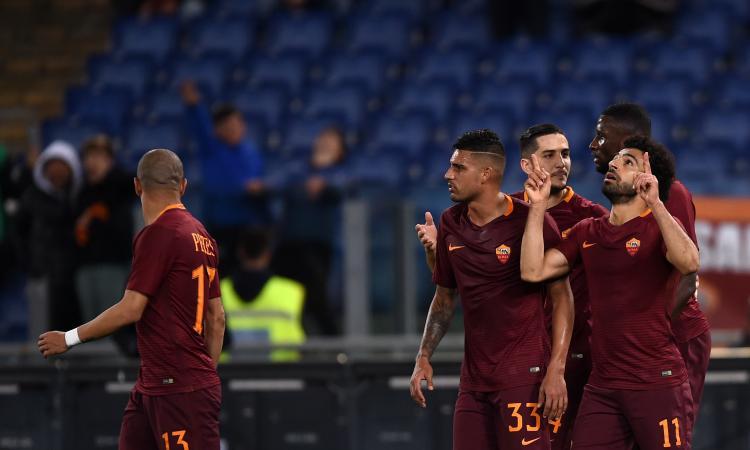 La Roma vince e torna al secondo posto: contro il Sassuolo finisce 3-1