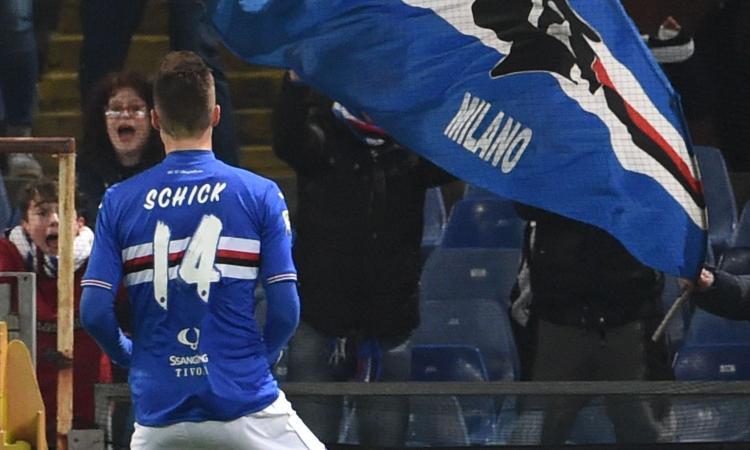Juventus, in quattro seguono Schick: la Sampdoria...