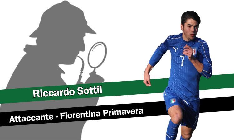 Terza Maglia Fiorentina RICCARDO SOTTIL