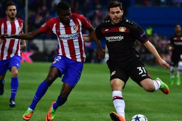 thomas partey, atletico madrid, volland, bayer leverkusen, 2016/17