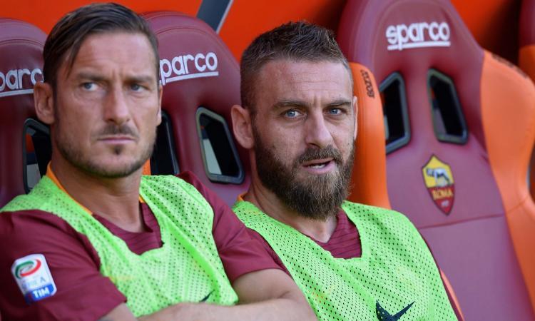 Caos Roma, Totti a De Rossi: 'Hanno giocato sporco'
