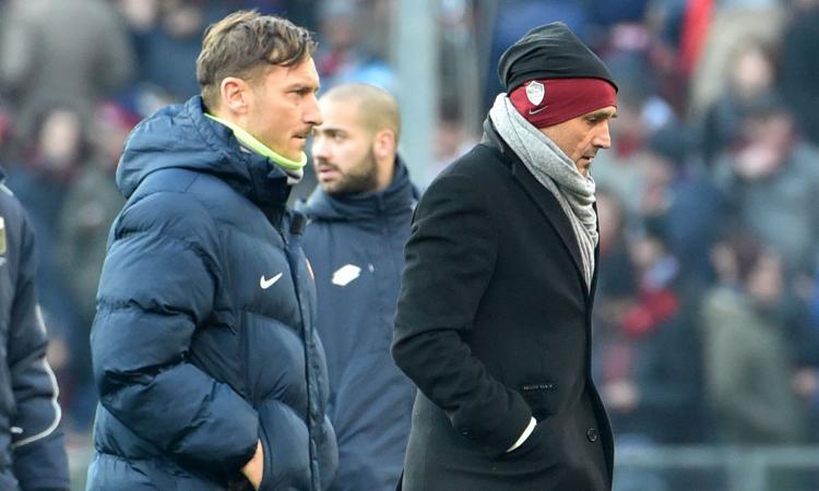 Totti: 'Nessun confronto in futuro con Spalletti. Oggi varrei 200 milioni'